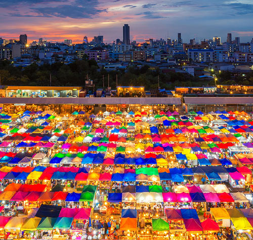 Что посмотреть в Бангкоке: 9 мест, откуда Бангкок видится по-новому