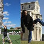 Как позируют настоящие туристы