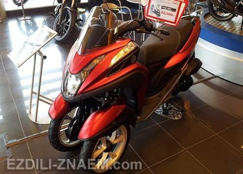 "Скутер – трицикл Yamaha ""TriCity"" в Тайланде: отзыв и фото"