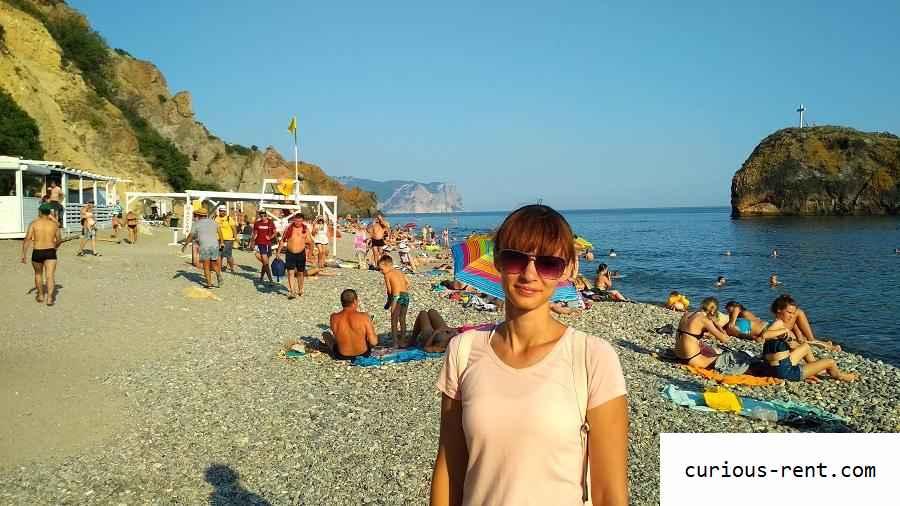 Яшмовый пляж (рядом с мысом Фиолент)