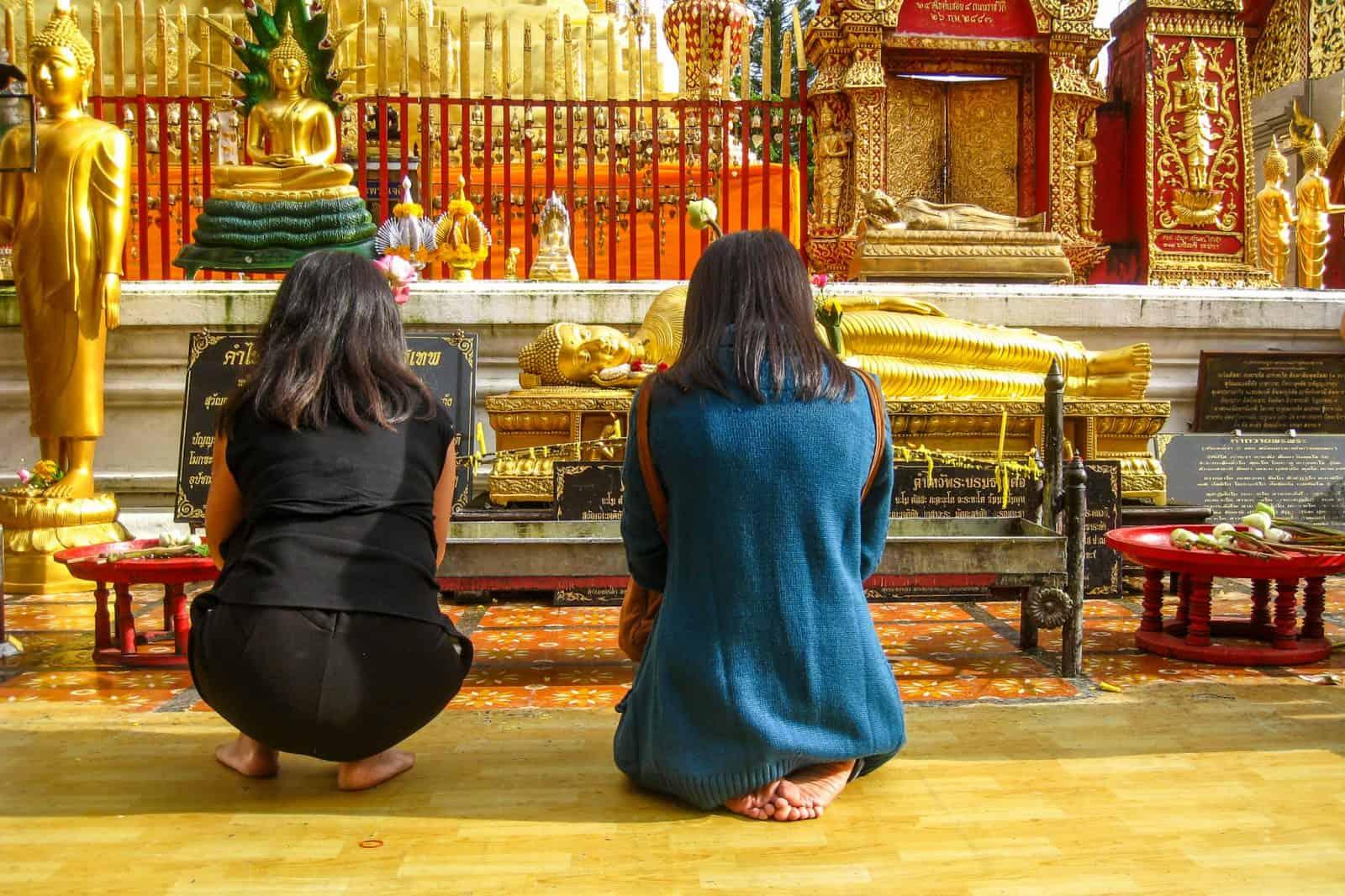 Буддийская молитва, Чанг Май