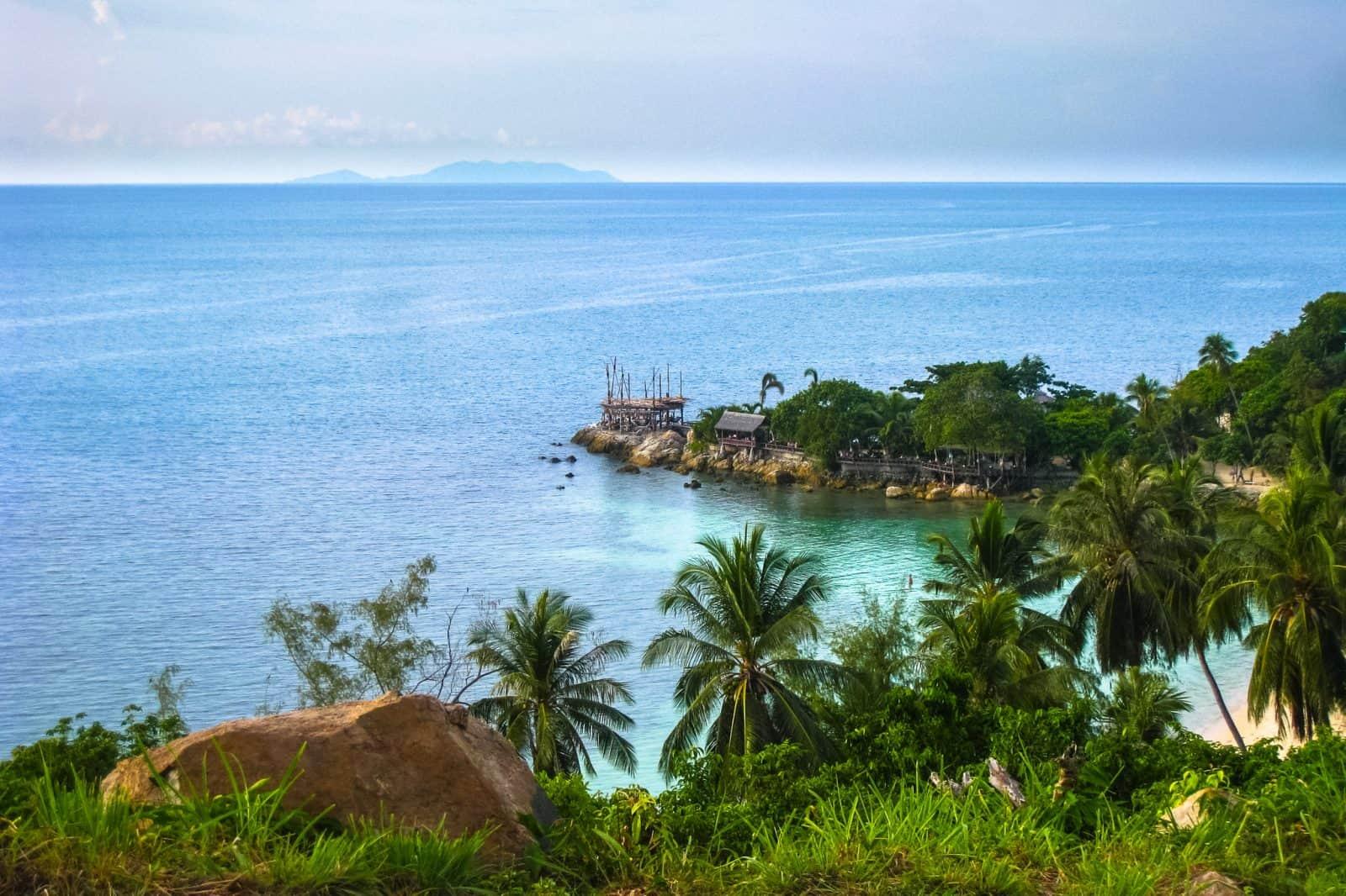 Ко Панган побережье