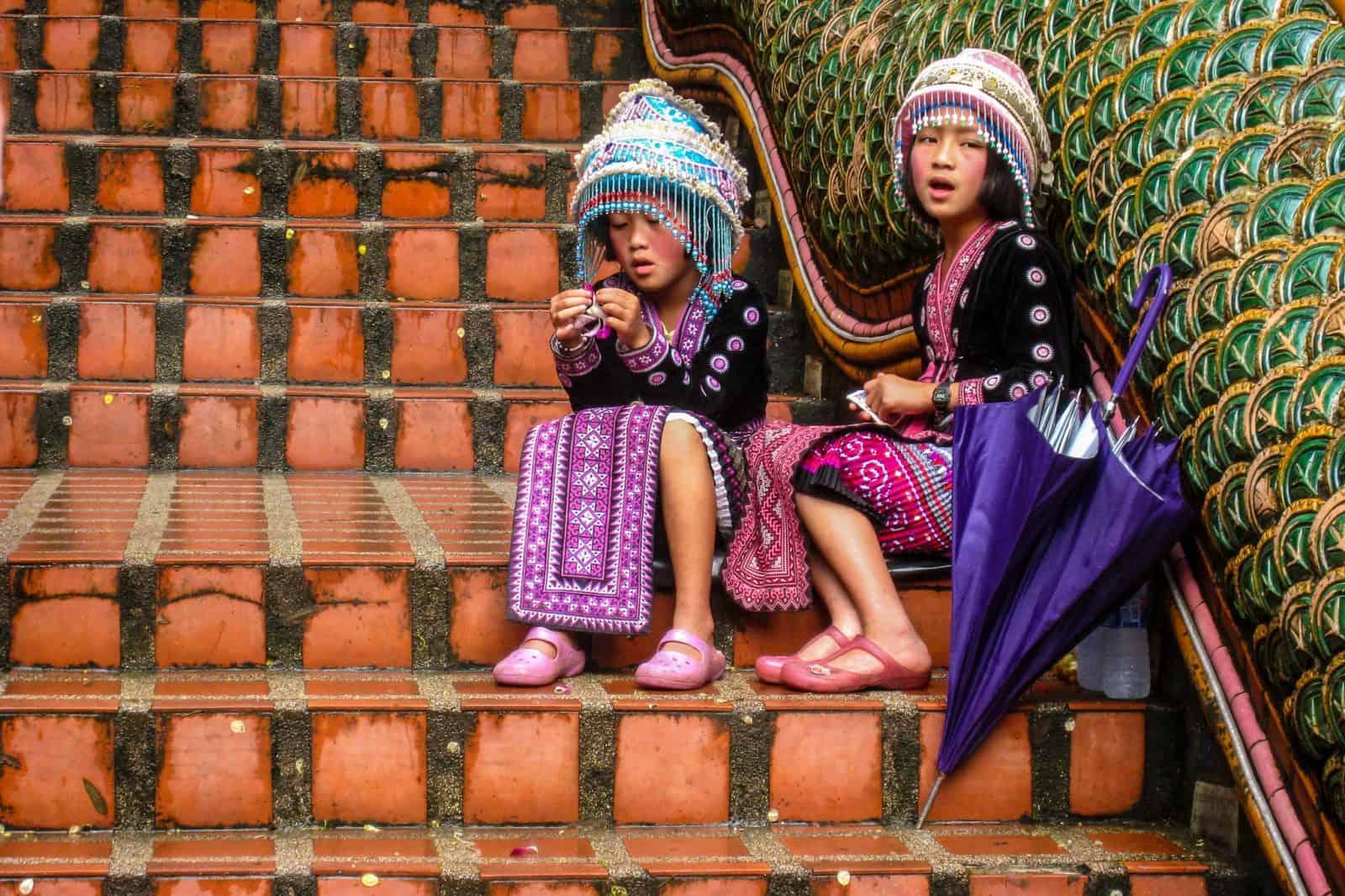 Дети в Чангмай