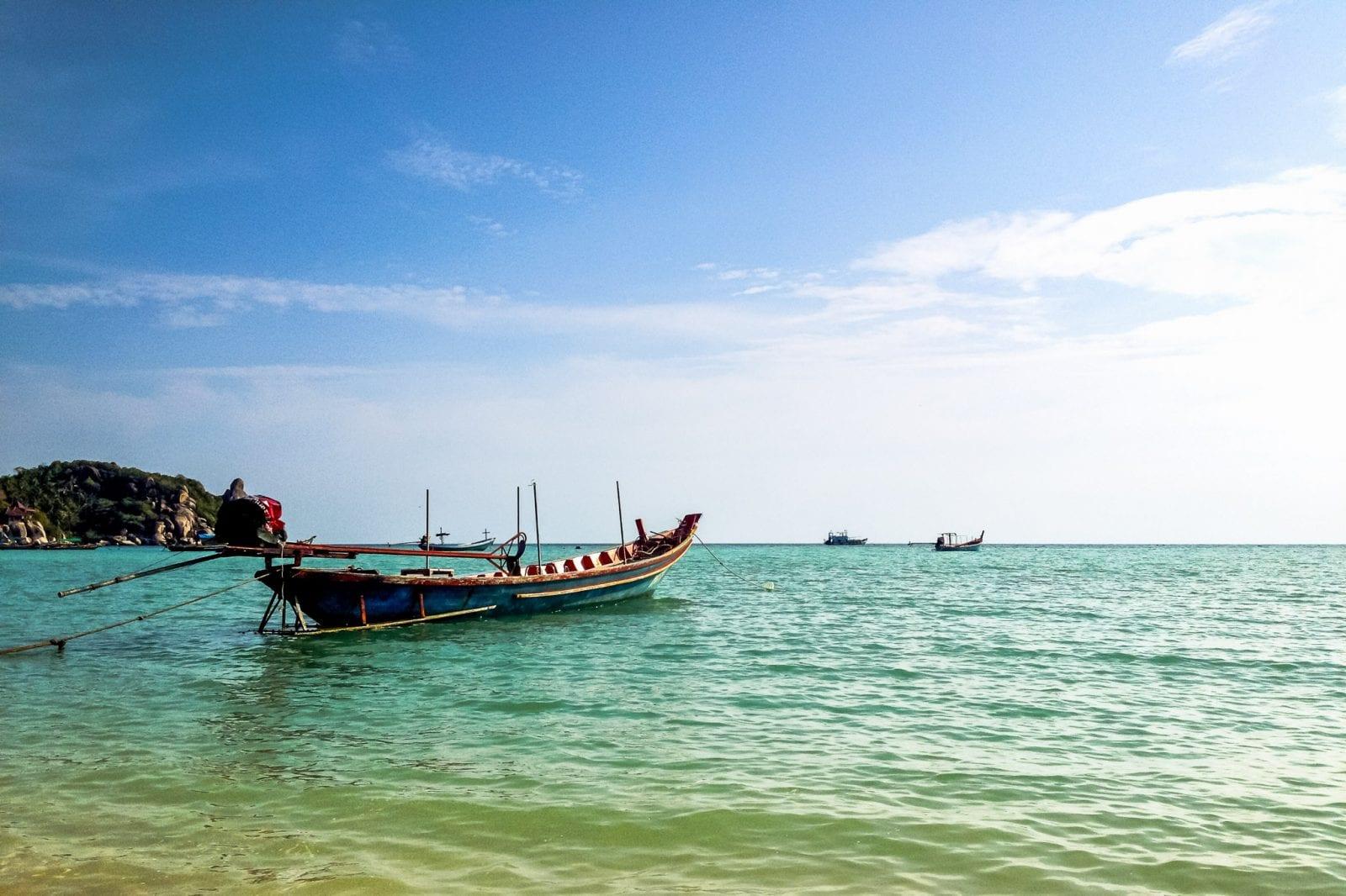 Лонгтельская лодка на Ко Тао