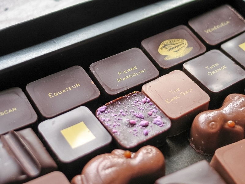 Шоколад от Пьер Марколини