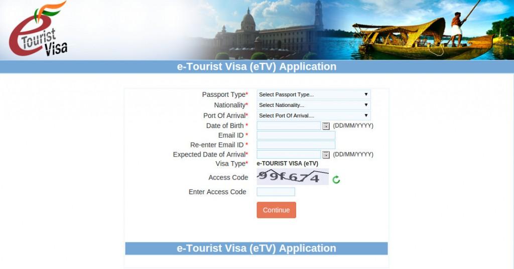 Электронная виза в Индию - инструкция по заполнению