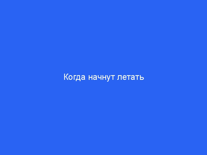 Когда начнут летать самолеты за границу из России и откроют международные рейсы в другие страны